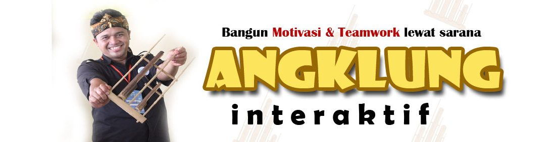 Angklung Interaktif for Team Building